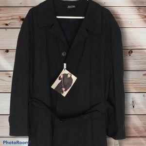 NWT Men's 40S Trench Coat Stanford Black